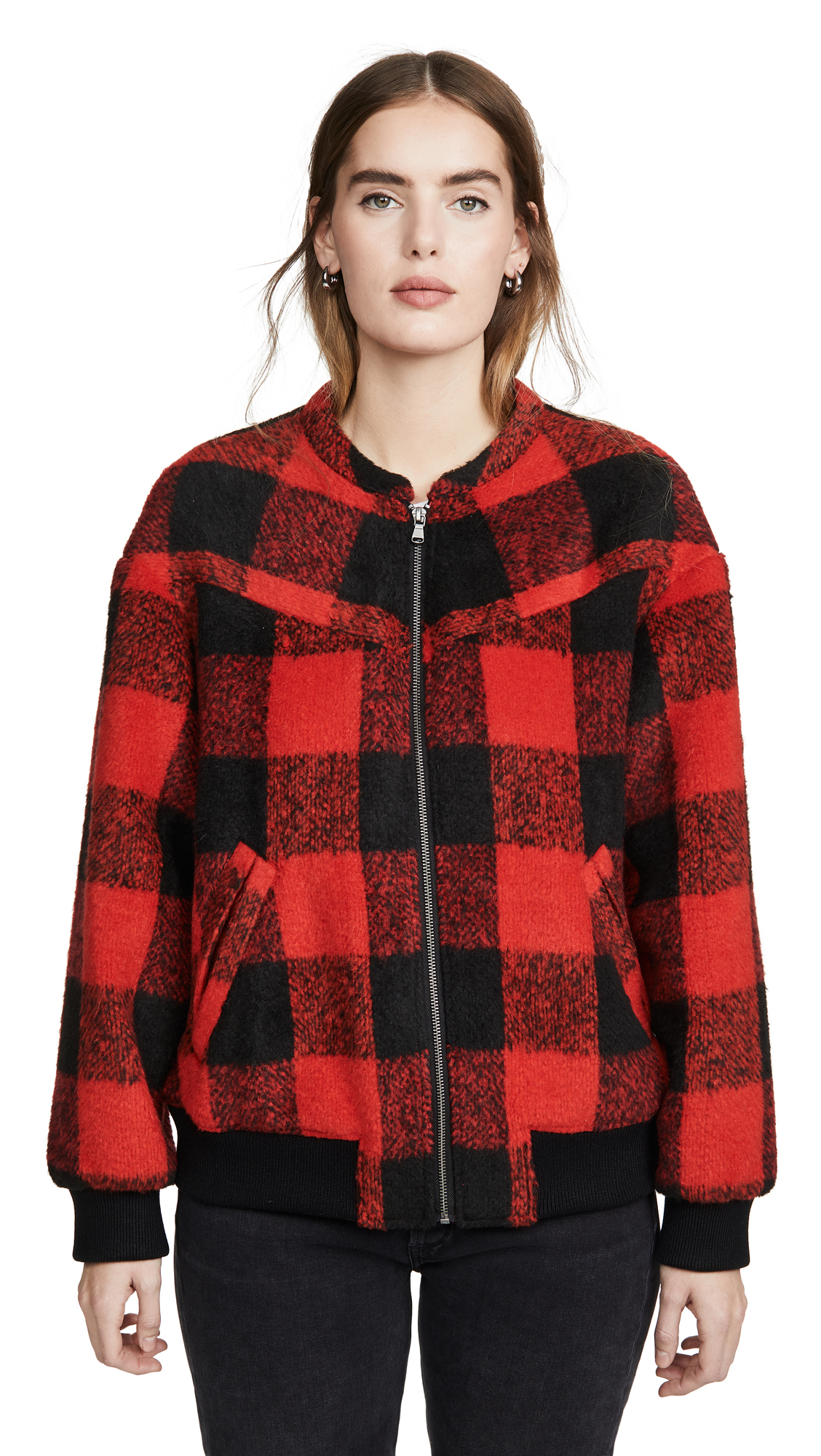 Buy Rebecca Minkoff online - photo of Rebecca Minkoff Brenda Quilted Bomber