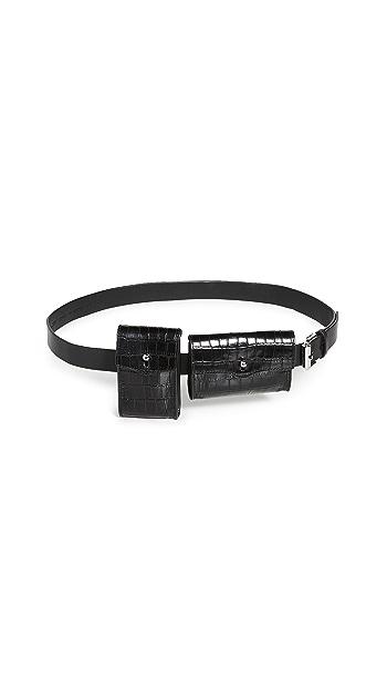 Rebecca Minkoff 20MM Multi Pouch Belt Bag - Black