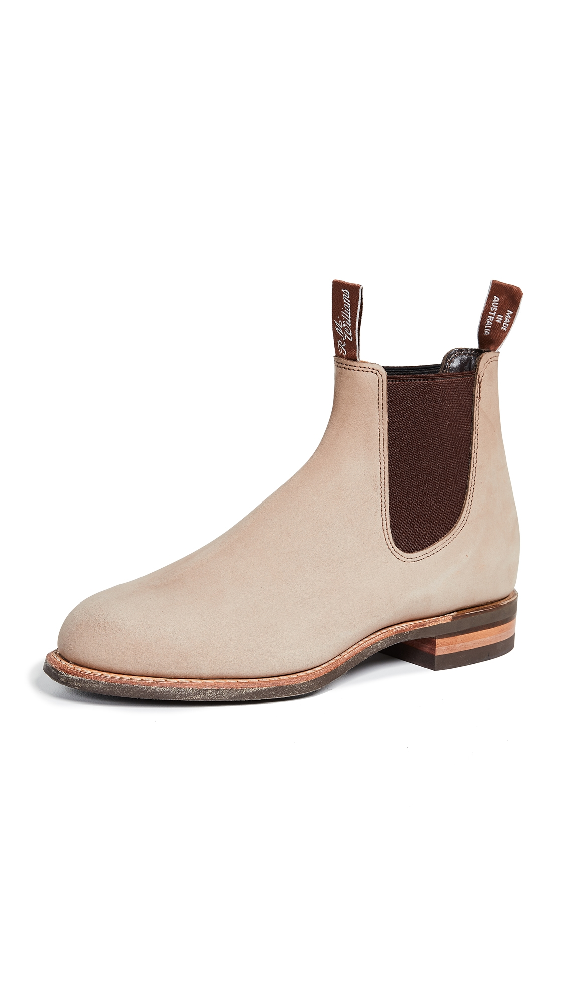 R.M.WILLIAMS R.M. Williams Beige Comfort Turnout Boots in Driftwood