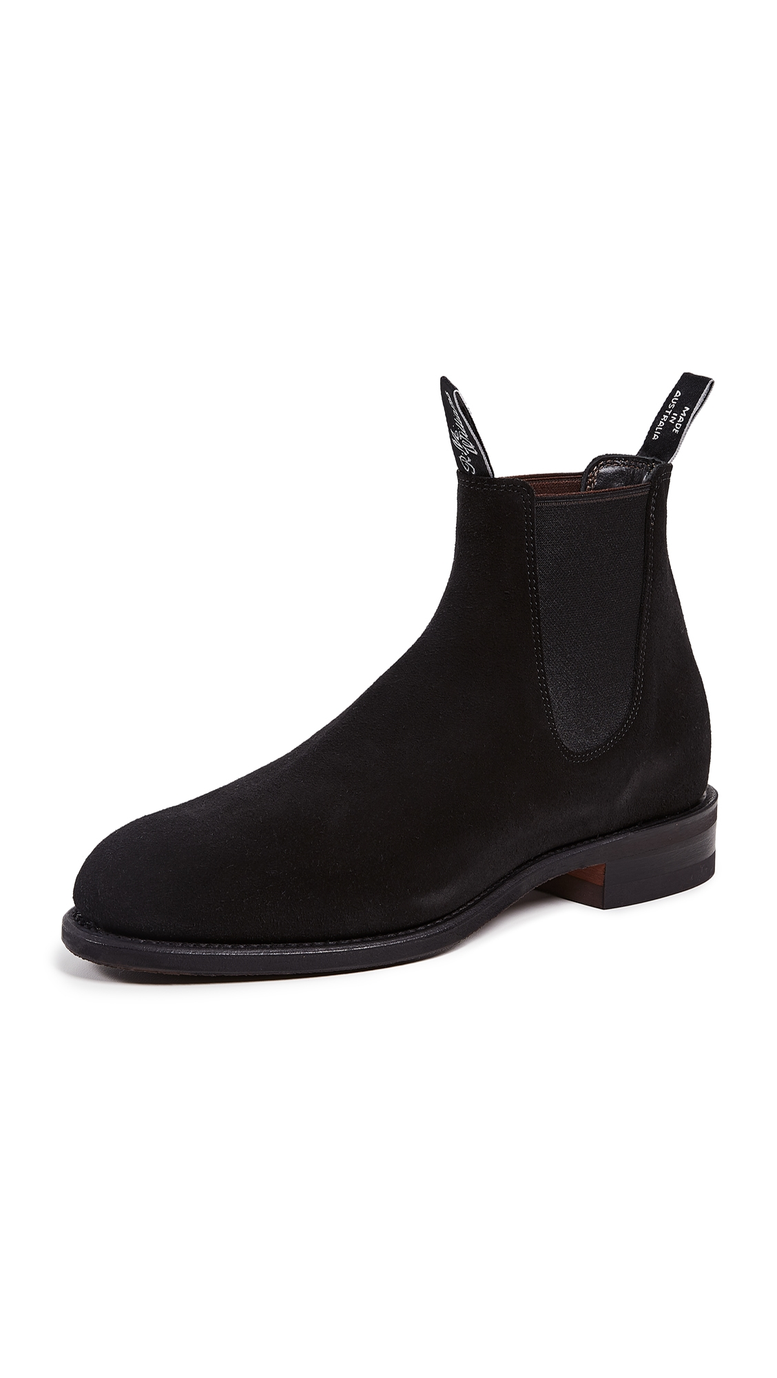 R.M.WILLIAMS Comfort Turnout Boots in Black
