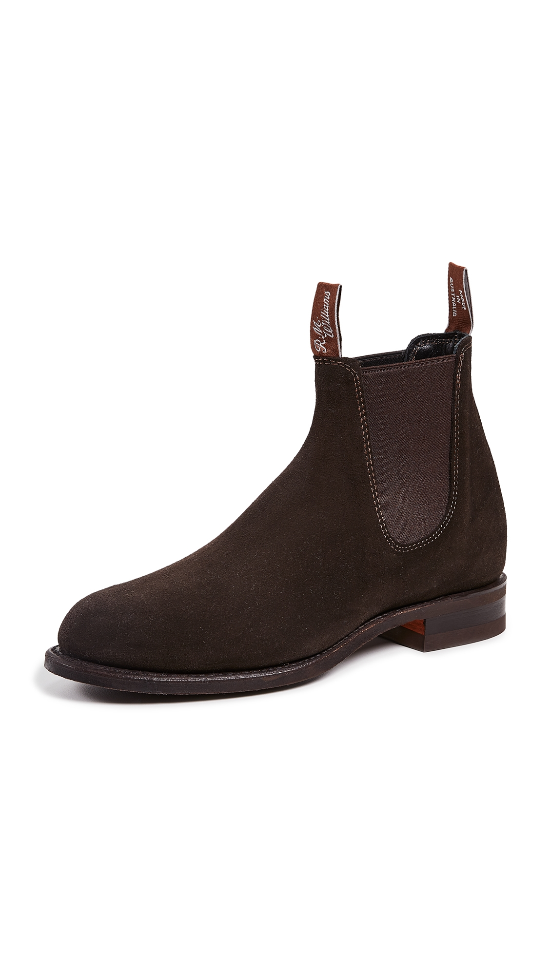 R.M.WILLIAMS Comfort Turnout Boots in Chocolate