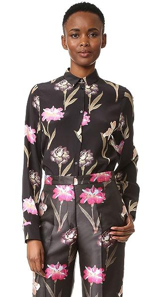 Rochas Блуза с цветочным рисунком