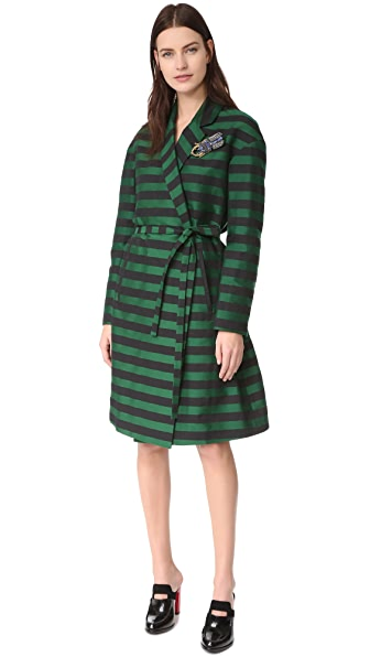Rochas Striped Coat