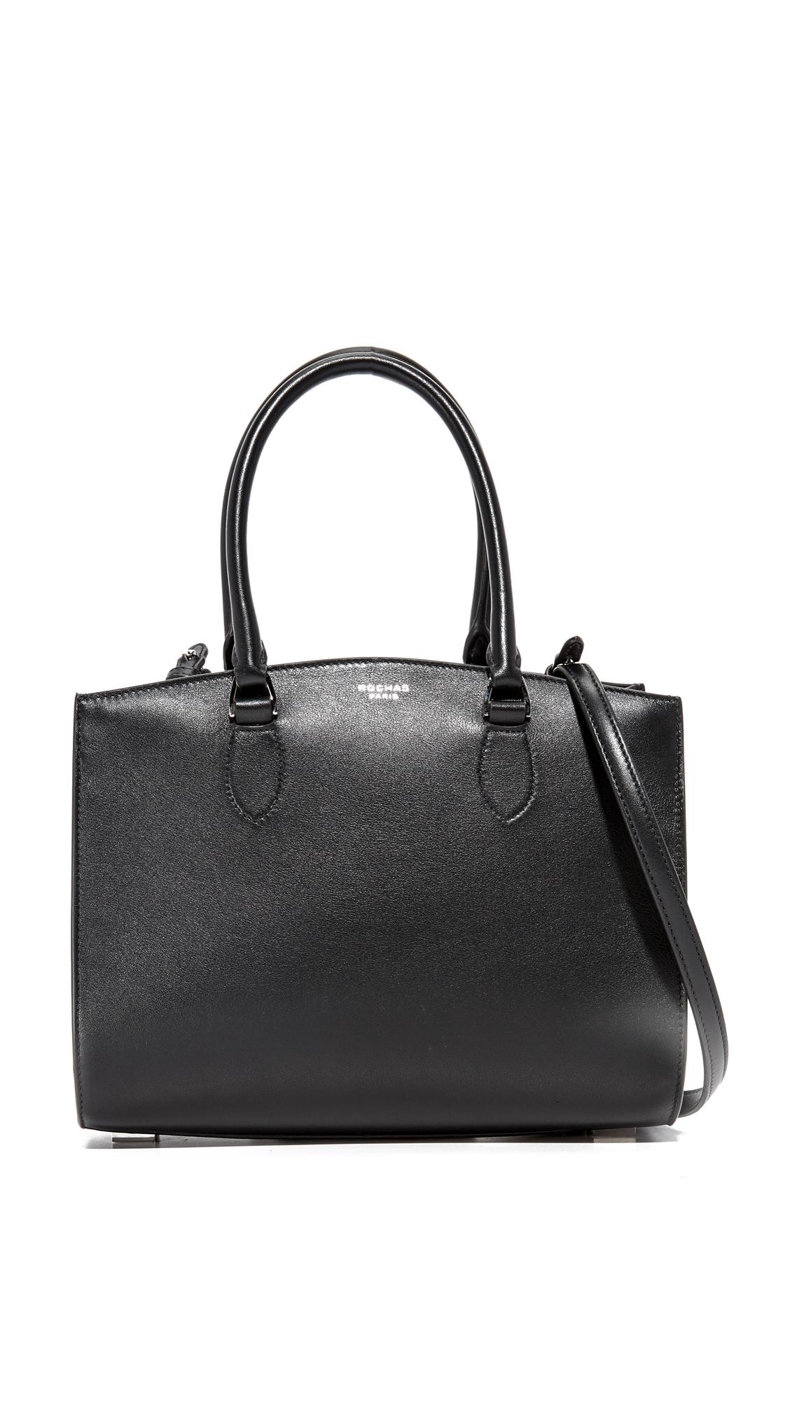 rochas female rochas top handle bag black