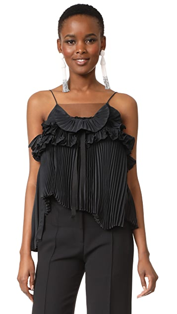 Rochas Sleeveless Blouse