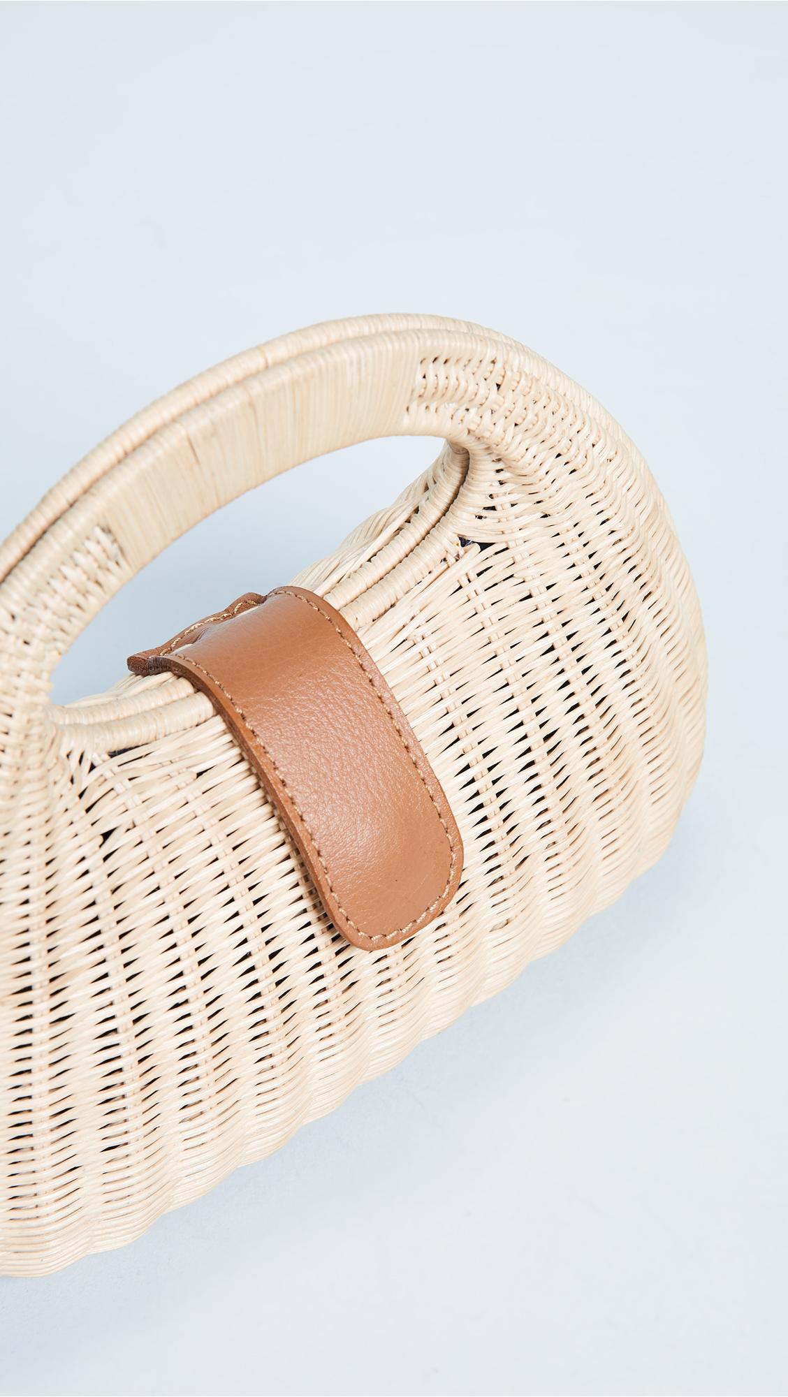 Mandy Wicker Basket Bag Rocio Footlocker Pictures Online Free Shipping Latest Clearance Best vfSjVDn5