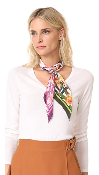 Rockins Monkey Orchid Super Skinny Scarf