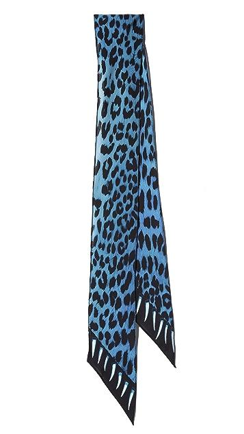 Rockins Leopard Teeth Super Skinny Scarf