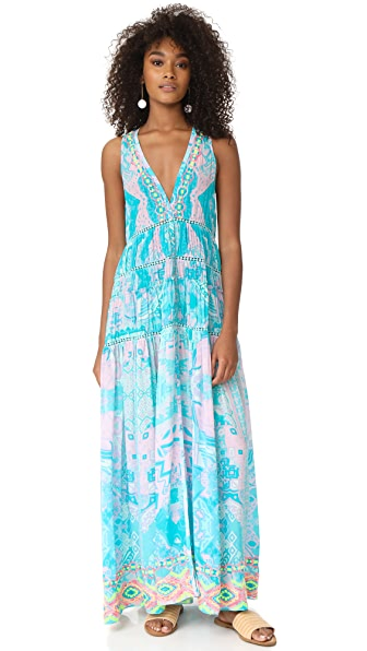 ROCOCO SAND Mexicano Long Dress - Pastel