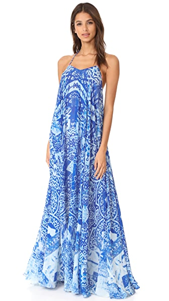 ROCOCO SAND Mexicano Dress - Blue