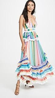 ROCOCO SAND Длинное платье Rainbow