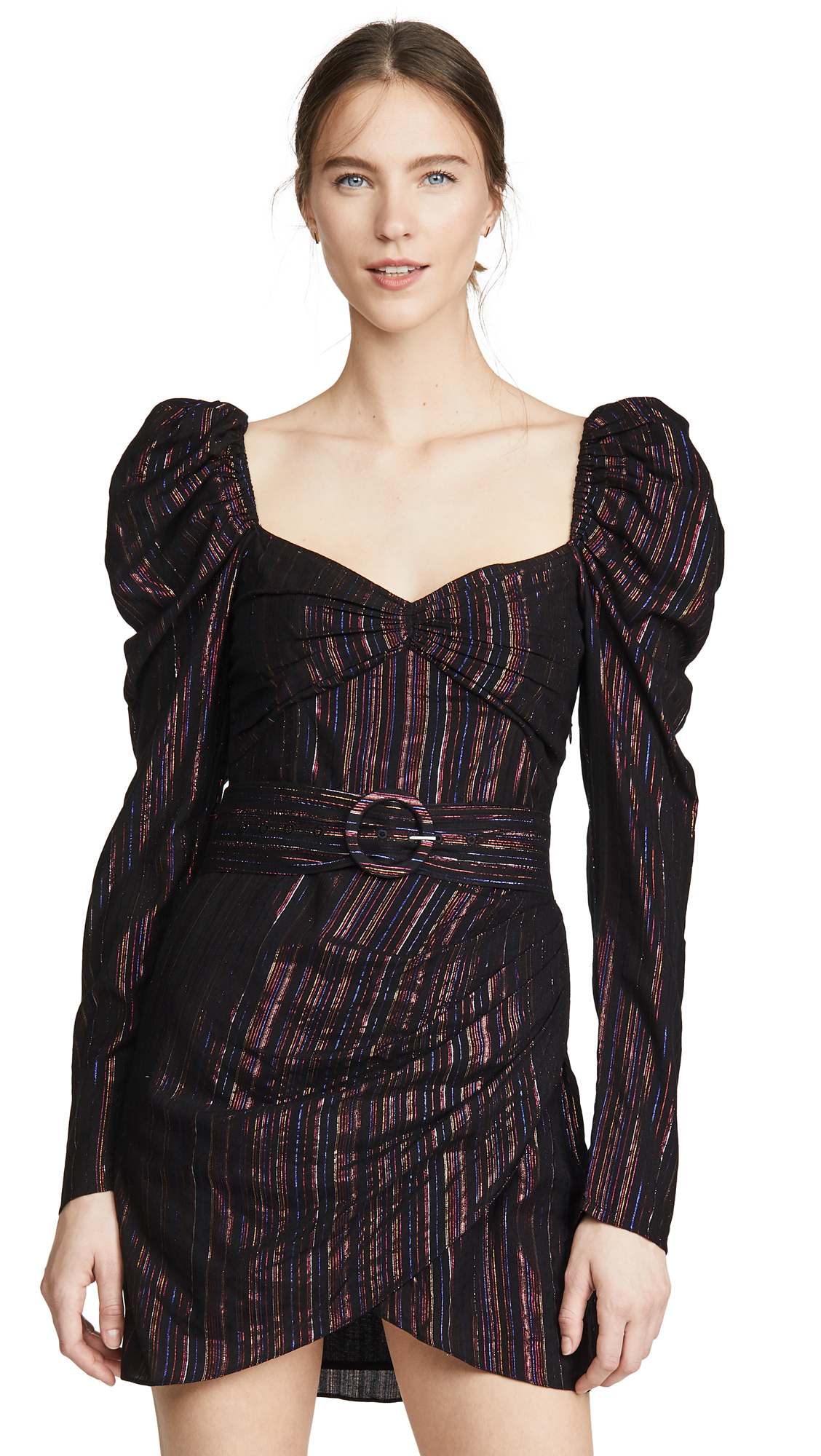 Buy ROCOCO SAND online - photo of ROCOCO SAND Long Sleeve Mini Dress