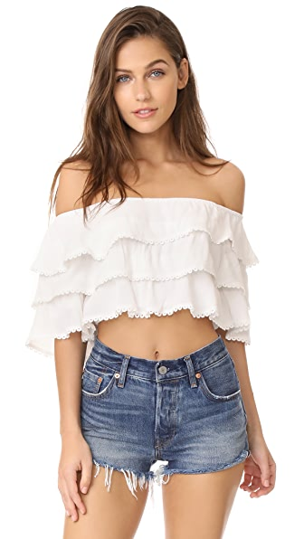 Roe + May Elania Crop Top
