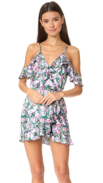 Roe + May Viv Mini Dress - Peony Floral