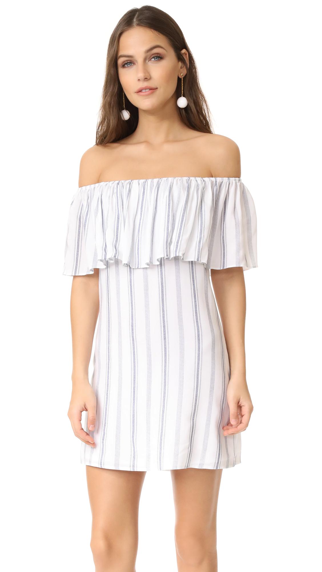 Roe + May Ravello Mini Dress - Hartford Stripe
