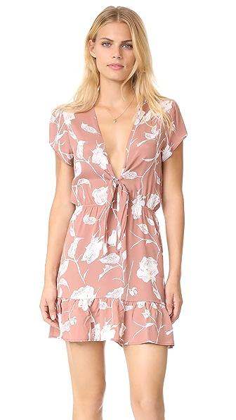 Roe + May Saz Mini Dress - Dusty Floral