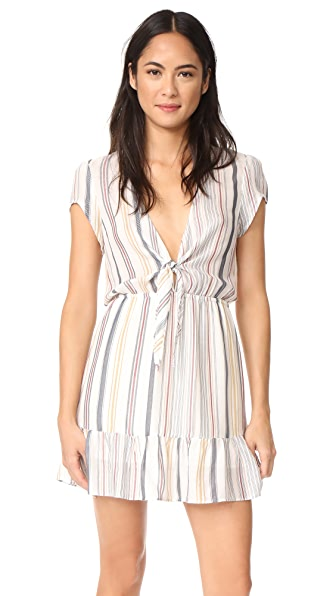 Roe + May Saz Mini Dress - Coastal Stripe