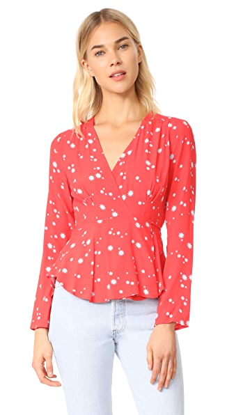 Rolla's Dancer Wrap Blouse