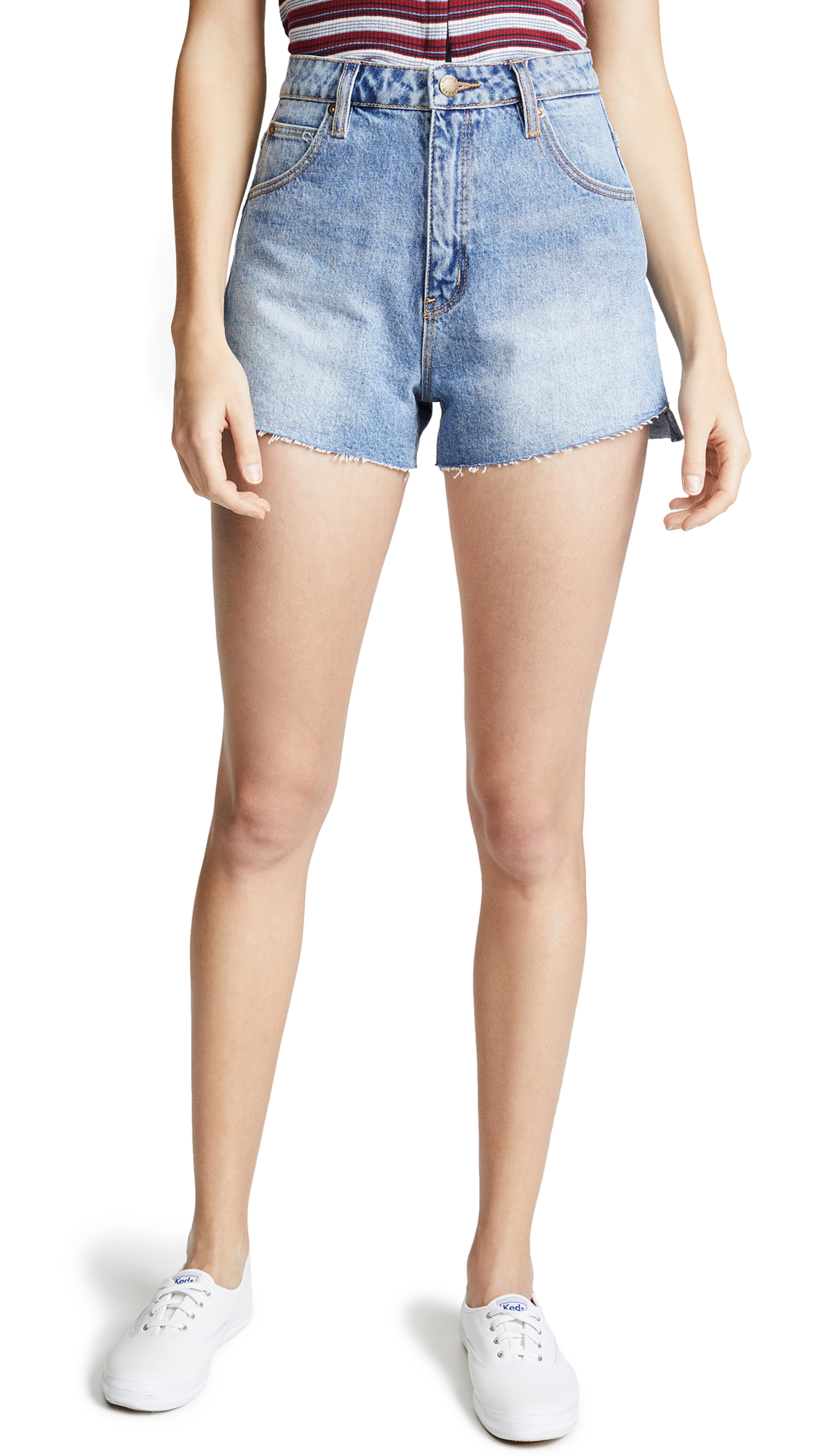 Rolla's Dusters Shorts In Sunny Blues