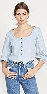 Rolla's Roxanne 条纹女式衬衫
