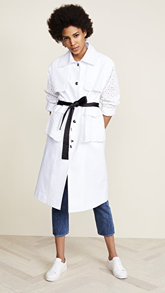 So White Trench