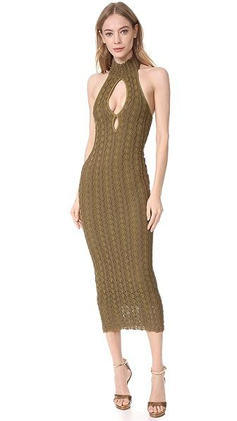 Ronny Kobo Sybil Dress - Fennel/Olive Combo