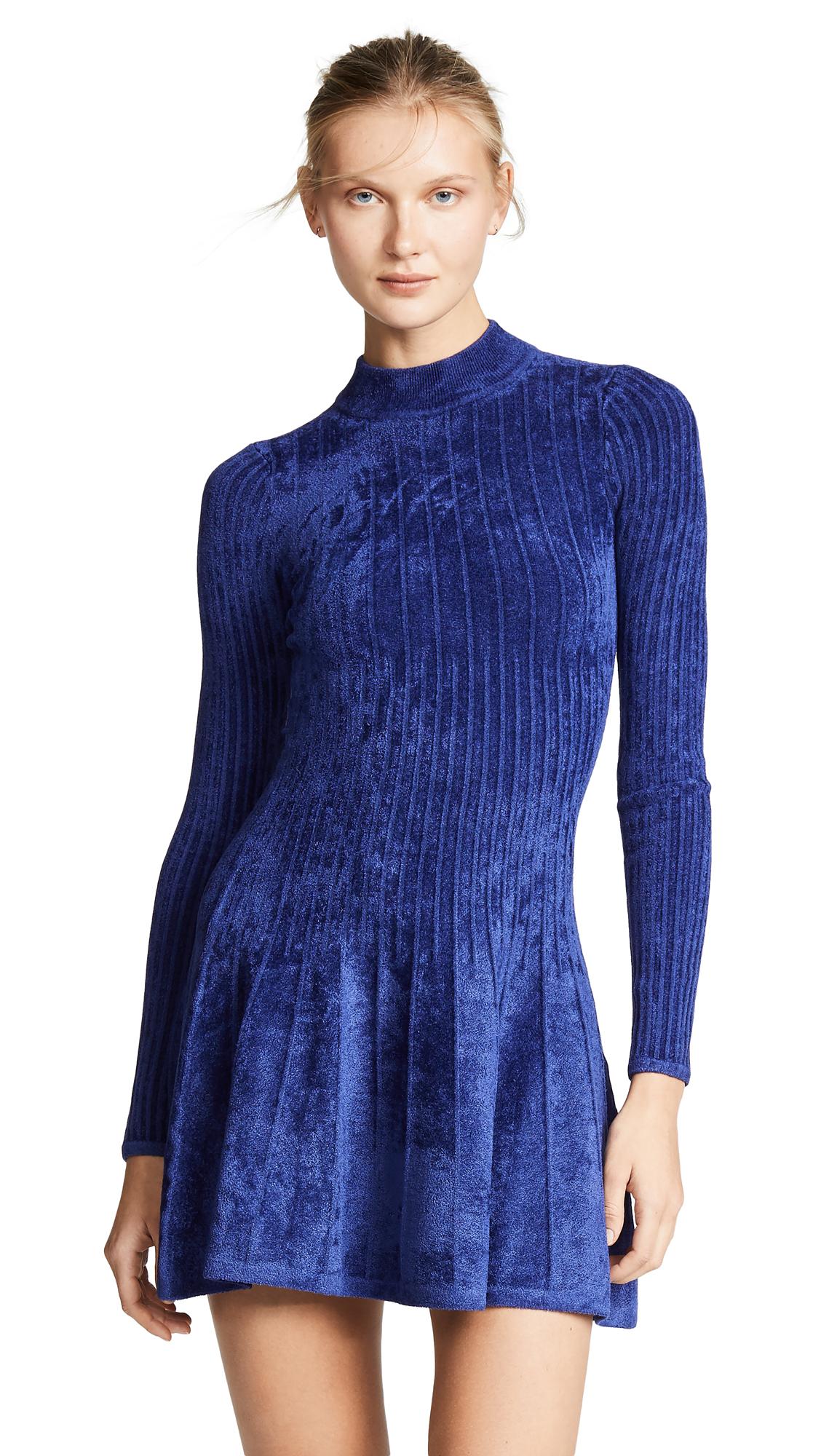 Ronny Kobo Piper Dress - Blue