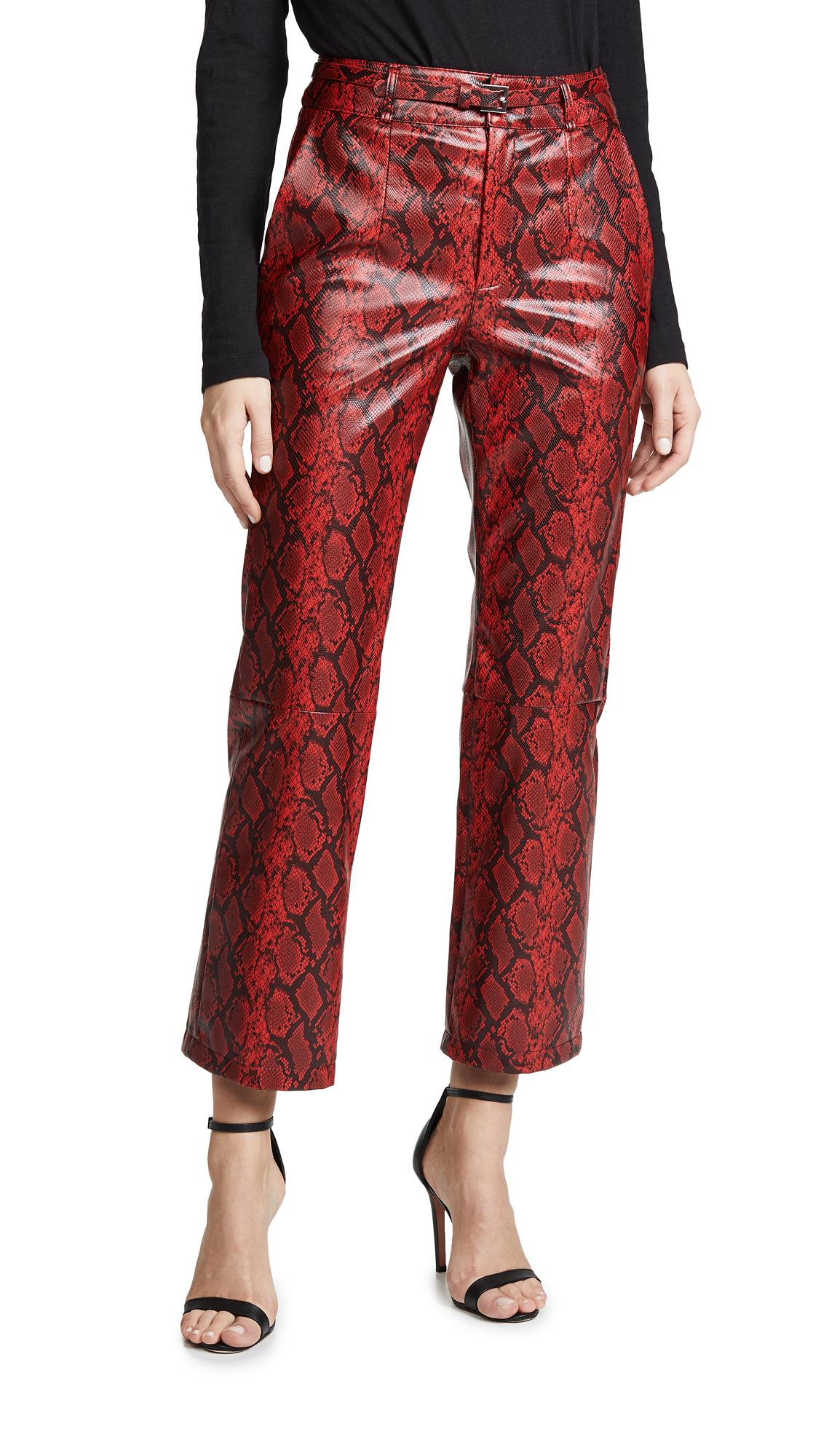 Ronny Kobo Toba Pants - Crimson Multi