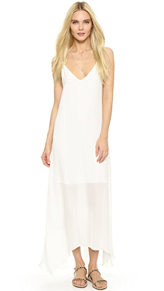 Rory Beca Petite Pleated Back Gown