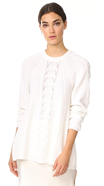Rossella Jardini Knit Top - White
