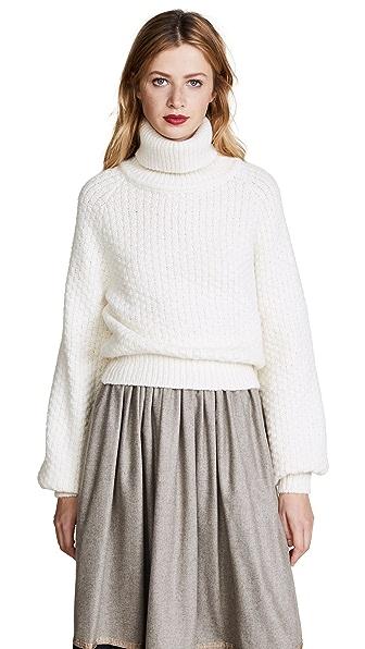 Rossella Jardini Knit Turtleneck In White
