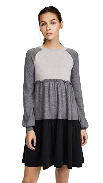 Rossella Jardini Knit Sweater Dress