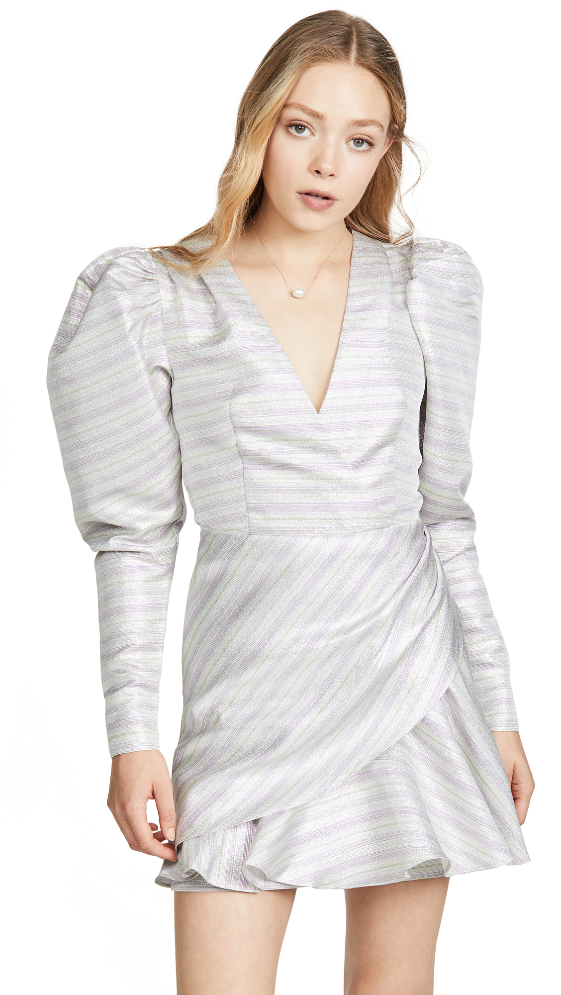 Buy ROTATE online - photo of ROTATE Number 24 Metallic Dress