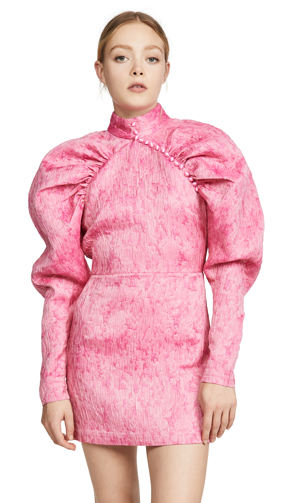 Buy ROTATE online - photo of ROTATE Number 1 Pink Dress