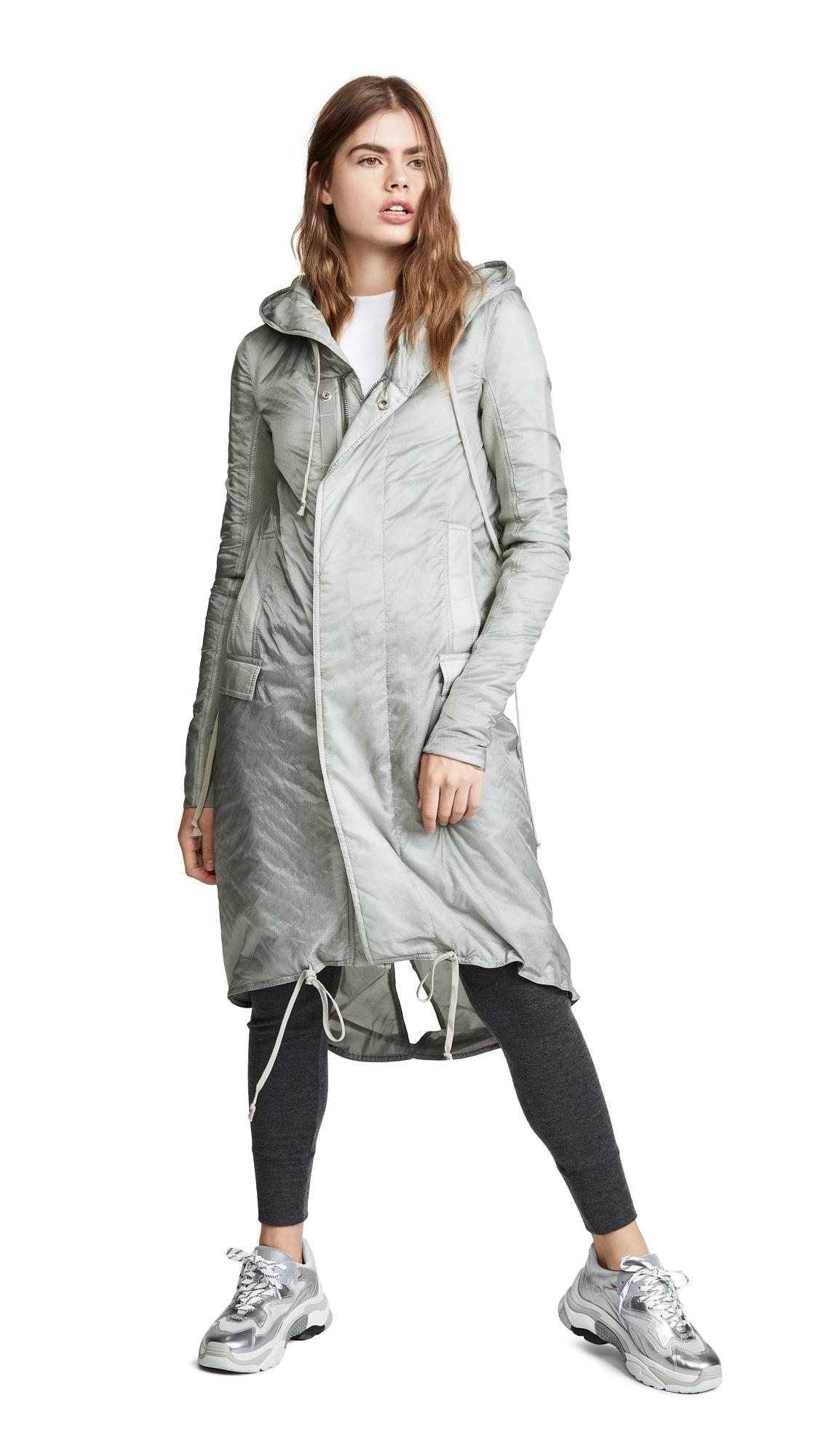 Rick Owens DRKSHDW Fishtail Long Jacket