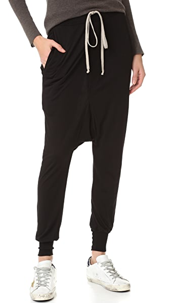 Rick Owens Lilies Drop Crotch Pants