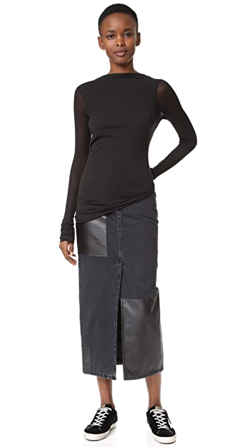 Rick Owens Lilies Open Back Top
