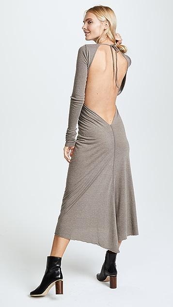 Rick Owens Lilies Long Sleeve Dress