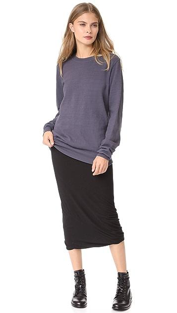 Rick Owens Lilies Midi Skirt