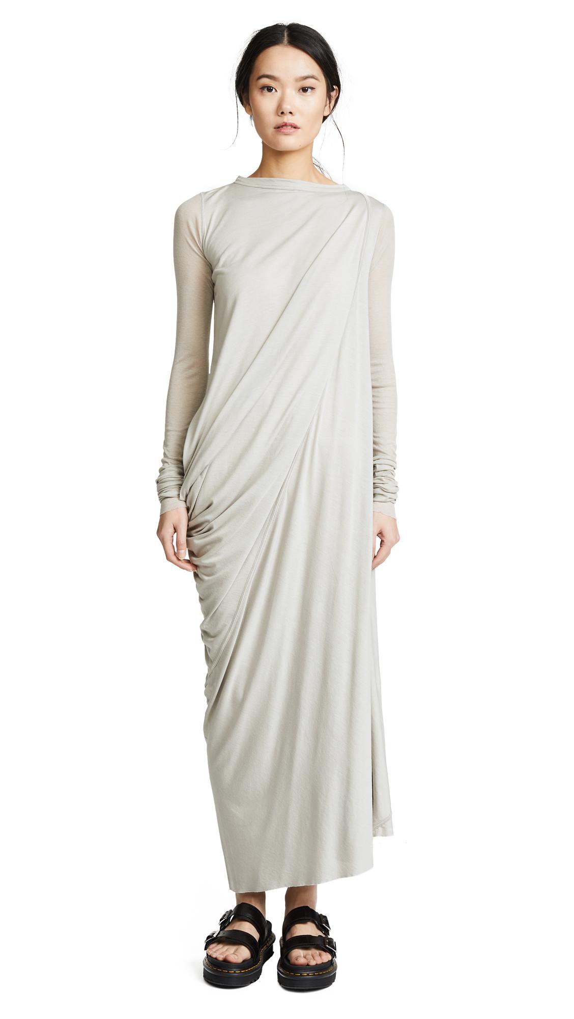 Rick Owens Lilies Long Sleeve Cinched Dress