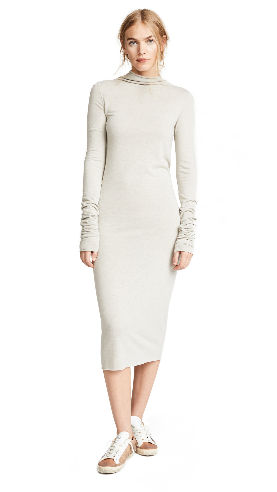Rick Owens Lilies Mock Neck Dress