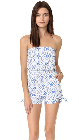 Rachel Pally Mika Playsuit - Delta Medallion
