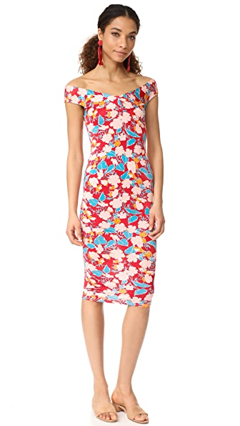 Rachel Pally Sammie Dress In Tropic Print