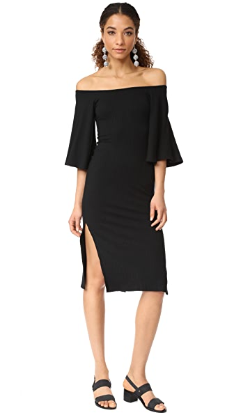 Rachel Pally Rib Zia Dress - Black