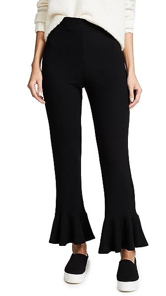 Rachel Pally Luxe Rib Kori Pants In Black