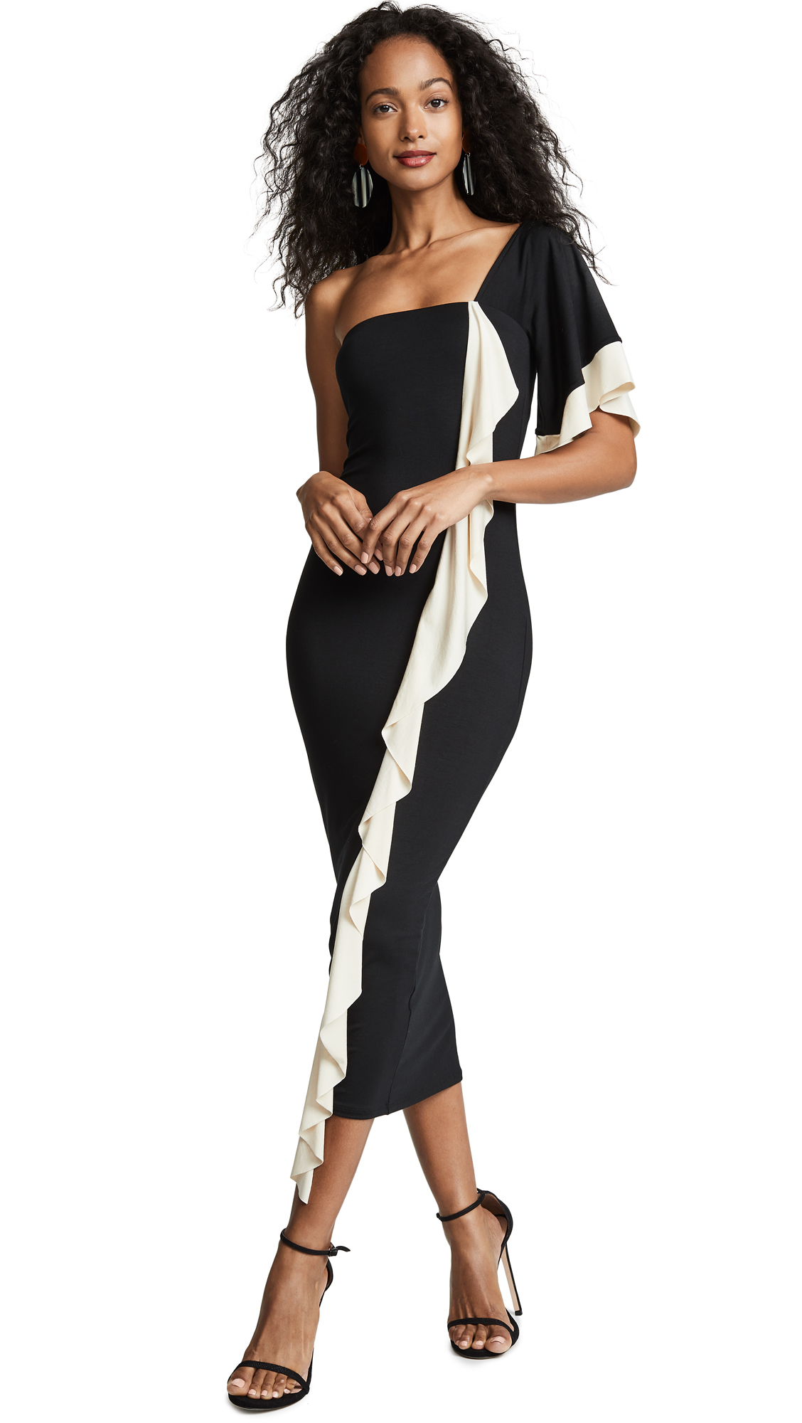 Rachel Pally Veronica Dress - Black/Cream Colorblock