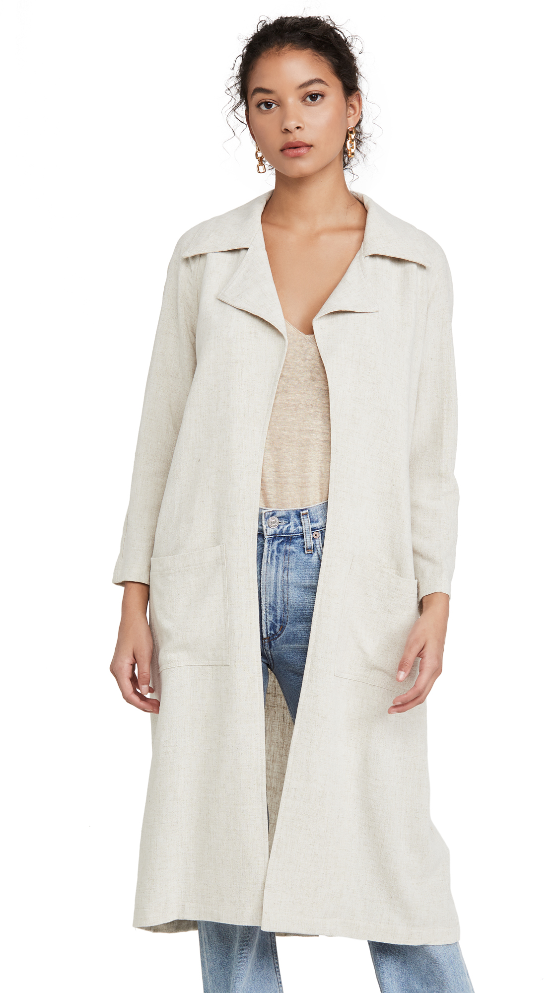Buy Rachel Pally Linen Cary Trench online beautiful Rachel Pally Jackets, Coats, Trench Coats