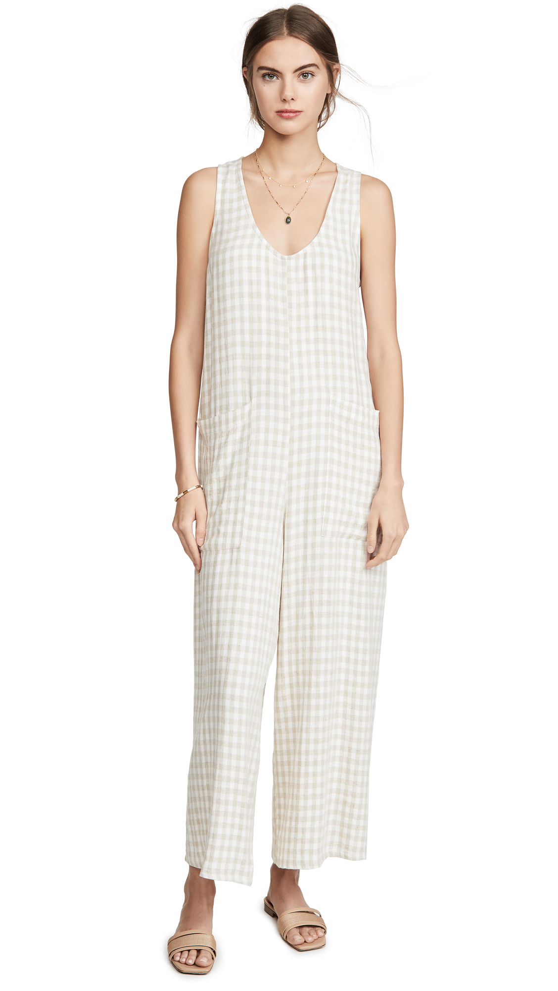 Buy Rachel Pally online - photo of Rachel Pally Linen Remy Jumpsuit