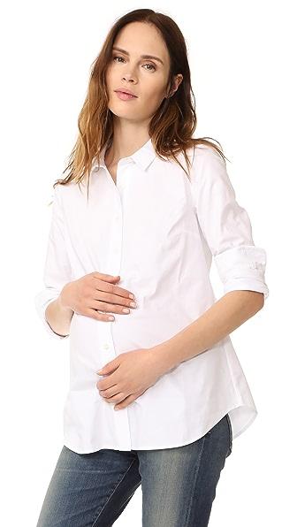 Rosie Pope Классическая рубашка для беременных