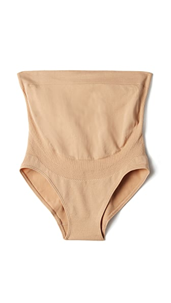 Rosie Pope Seamless Shaper Briefs - Nude